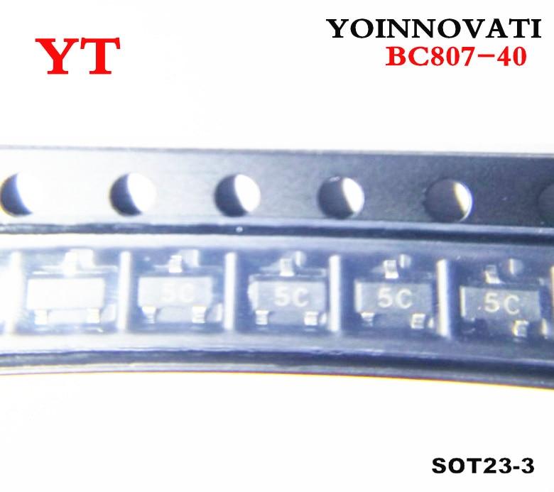 Free Shipping 100pcs/lot BC807-40 BC807 807-40 5C SOT-23 IC  Best Quality.