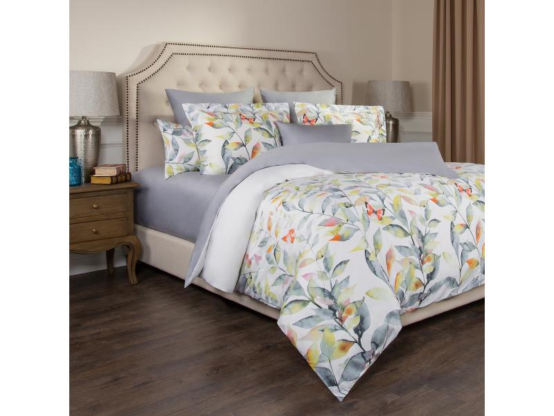 Bedding Set double-euro SANTALINO, HARMONICA, Gray swan sw24 17 harmonica