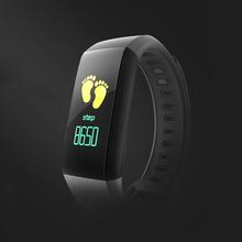 цена на best seller Smart Wristband Waterproof Heart Rate Monitor Pedometer Blood Pressure Smartband Bracelet Fitness Tracker bluetooth4