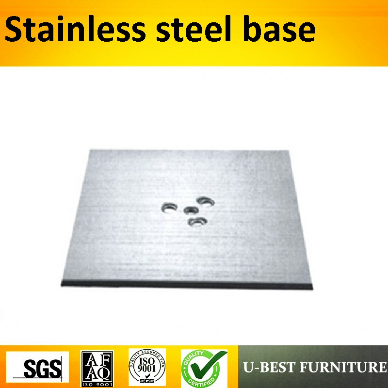 U-BEST High Quality Stainless Steel Dining Table Base Restaurant Outdoor Furniture Furniture Square top table Base outdoor stainless steel wraped bar table top dining table top table top wholesale