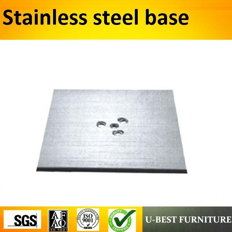 купить U-BEST High Quality Stainless Steel Dining Table Base Restaurant Outdoor Furniture Furniture Square top table Base по цене 1835.93 рублей