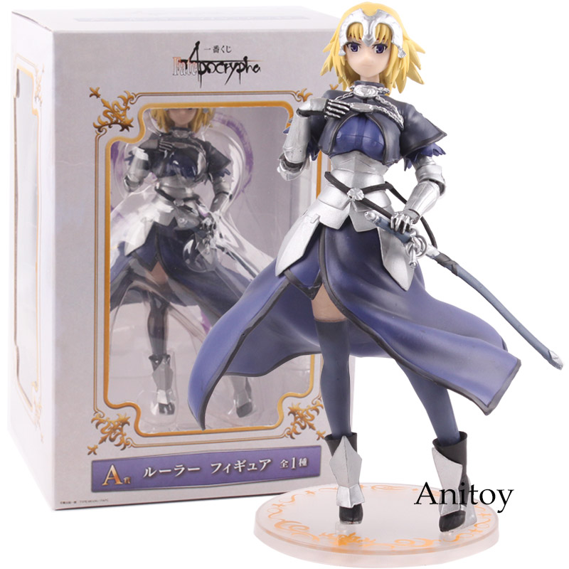 Fate/Apocrypha Ruler Jeanne D' Arc PVC Joan of Arc Fate Apocrypha Action Figure Collectible Model Toy 21cm аксессуар moon weston pointer x power 600