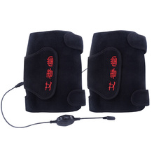 T2N2 Wormwood Far Infrared Magnetic Heating Therapy Pain Relief Knee Wrap Warmers  Brace Thermotherapy Health Care Product