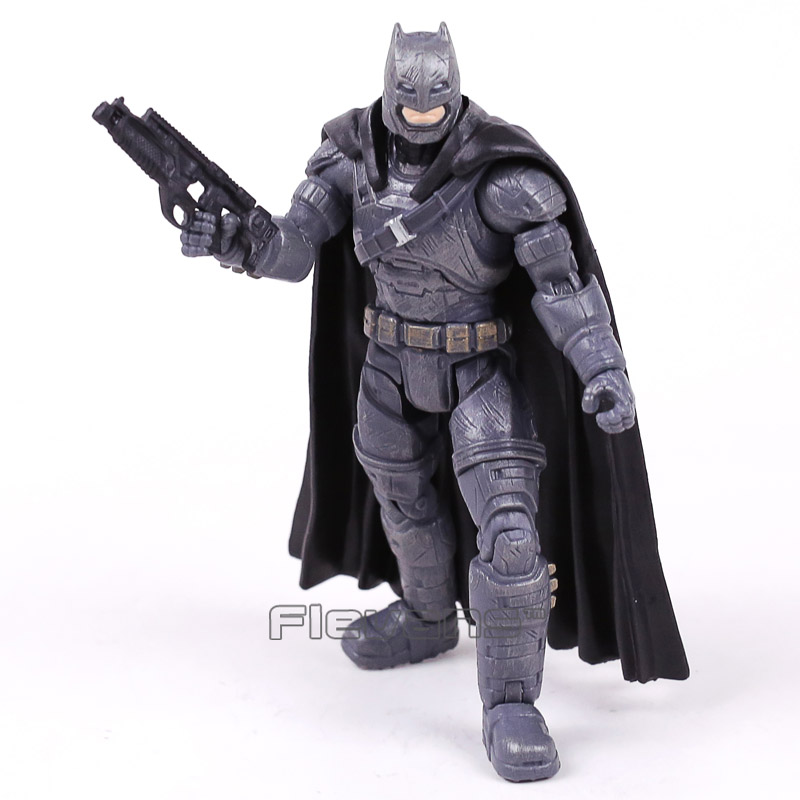 Batman V Superman Dawn of Justice Armored Batman PVC Action Figure Collectible Model Toy 17cm play arts kai batman v superman dawn of justice no 3 armored batman pvc action figure collectible model toy 25cm