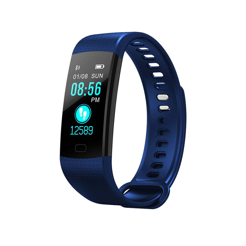 K4 Color Screen Smart Wristband Sports Bracelet Heart Rate Blood Pressure Monitor Fitness Tracker for Samsung Galaxy Note 8 5 4 цена и фото