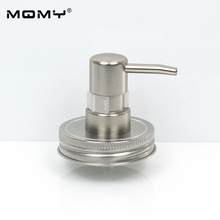 Hand Soap Dispenser Pump Mason Jar (Jar not include) Countertop Lotion With Clip Lock