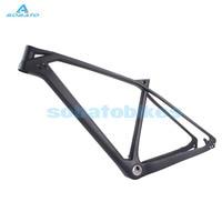 Sobatostore Newest Toray Carbon Matt 27 5ER Mountain Bike MTB 17 5 Bicycle Frame Headset