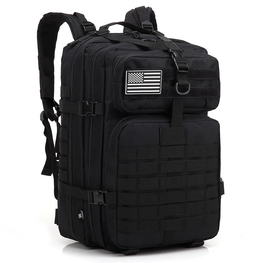 45L Для мужчин Военно-тактические рюкзаки охоты MOLLE армейская Assault Pack путешествия рюкзак Bug Вне Сумка Для Открытый походные рюкзаки