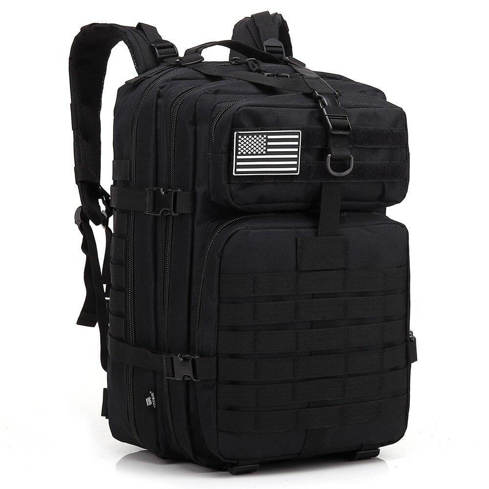 45L Hommes Militaire sacs à dos tactiques de Chasse Armée Molle sac assault sac à dos de voyage Bug Out Sac Pour Randonnée En Plein Air sacs de camping