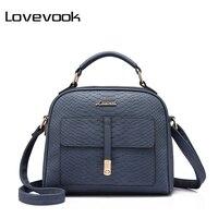 LOVEVOOK merk vrouwen schouder crossbody bag vrouwelijke messenger bags hoge kwaliteit retro dames handtas flap printing grote purse