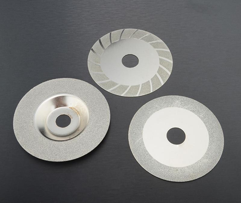 3 Pcs Diamond Grinding Wheel Processing Saw Blade Cutter Grinder 100mm Glass Grinding Ceramic Tile Polishing Tool