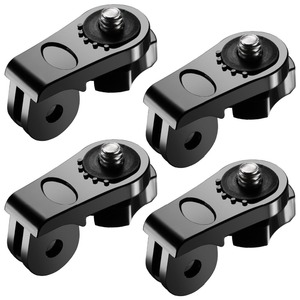 """Image 1 - 4XUniversal Conversion Adapter 1/4"""" Inch Mini Tripod Screw Mount for GoPro Accessories for Sony Olympus and Other Action Cameras"""