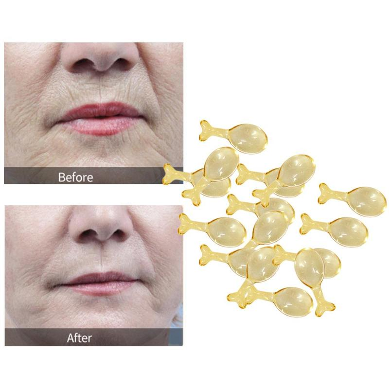 10PCS Ginseng EGF Reverse Spatiotemporal Capsule Liquid In Facial Hydrating Moisturizing