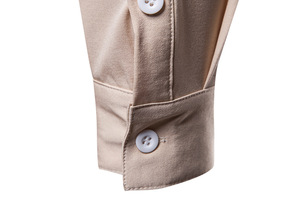 Image 5 - Scottish Jacobite Ghillie Kilt Shirt Men Chemise Homme 2018 Fashion Slim Fit Solid Color Long Sleeve Tuxedo Dress Shirt Mens Top