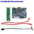 10 Шт. 2 К HDMI LVDS для EDP Плате Контроллера DIY комплекты для Raspberry PI 3 1920x1080 EDP Siganl 2 Полос 30 Пальцы ЖК-Дисплей панели