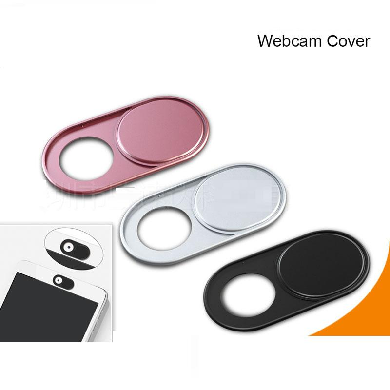 Aluminum Alloy Mobile Phone Webcam Cover Privacy Protection Cover Shutter For Smartphone Laptop Desktop
