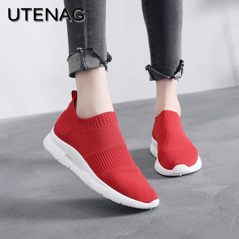 2018 Summer Hot Sale Mesh Women Casual Shoes Breathable Lightweight Footwear Fashion Joker Trend Super Soft Flat With Sneakers