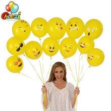 20PCS 12inch Emoji Latex Balloon Smiley Face Expression Ballon Birthday Party Decoration DIY Wedding Helium