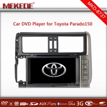 Special CAR DVD player/ tape recorder/cassette player for Toyota Prado 2010- 2012 ( Land Cruiser 150 ) with full +map gift