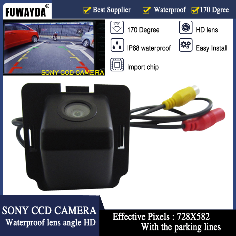 FUWAYDA SONY CCD Chip Special Car Rear View Reverse Parking Backup Safety DVD GPS NAV CA ...