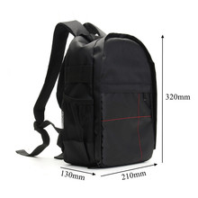 On sale NEW Waterproof Digital DSLR Photo Padded Backpack w/ Rain Cover Laoto  Multi-functional Camera Soft Bag Video Case
