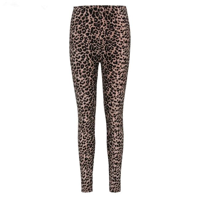 Summer New Fashion Euramerican Gothic Black Milk Leopard Leggings Punk Rock Style Sexy Leggings Pants For Women 3