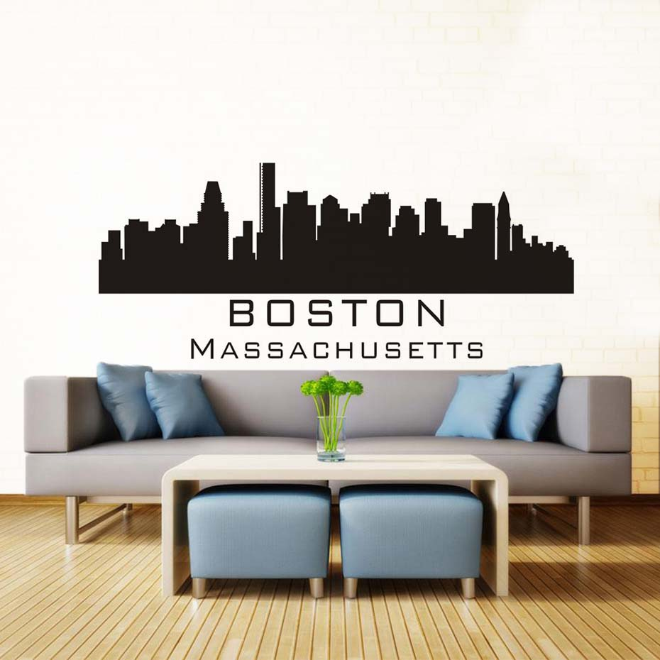 London wall sticker gallery home wall decoration ideas city wall sticker image collections home wall decoration ideas boston massachusetts city wall sticker silhouette building amipublicfo Gallery
