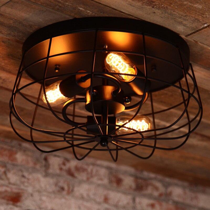 Loft Style Fan Edison Bulb Balcony Vintage Ceiling Light ...