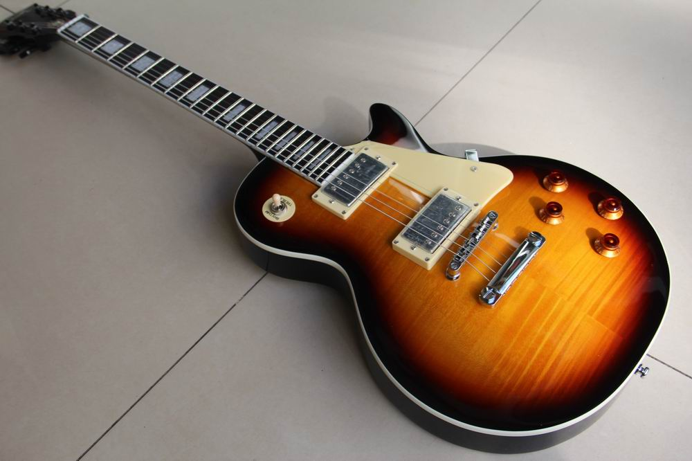 New arrival G Guitar LP Custom VOS  electric guitar,LP guitar,Vintage Sunburst Free shipping 120226 shipping free new arrival factory direct jackson style electric guitar rock voice metal feeling support customization picture