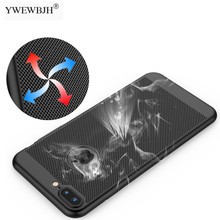 YWEWBJH Phone Cases For iPhone 8 7 6 6S Plus Ultra-thin Cooling Hard Plastic Cover for X Xs Max Xr