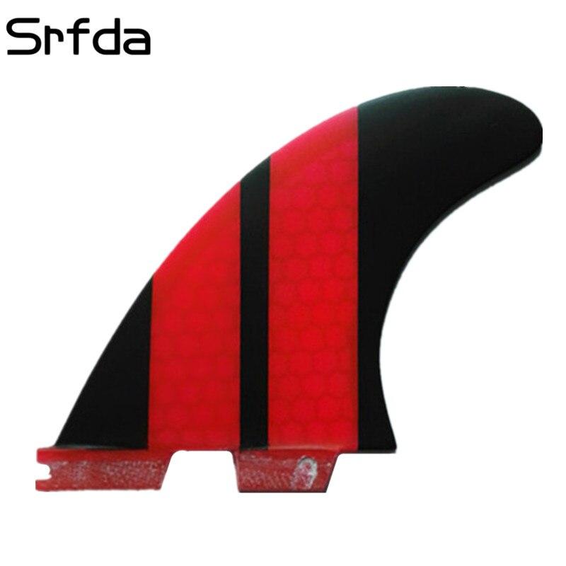 srfda Free shipping surfboard fin High quality FCS II G5 surf fins with fiberglass honey comb