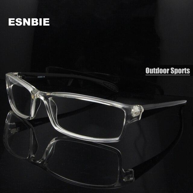 fccf5b4b93a ESNBIE Mens monturas de lentes hombre Prescription Glasses TR90 Flexible Eyeglasses  Frames Men 6 Base oculos