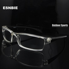 ESNBIE-gafas de sol graduadas para hombre, monturas flexibles TR90, 6 bases