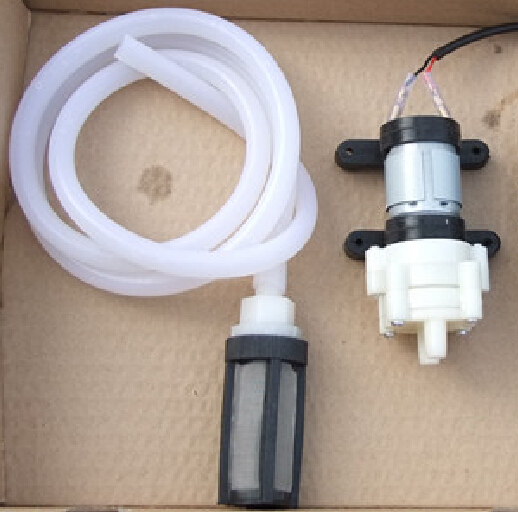 Mini DC12V Water Pump Set Silica Gel Pipe Filter Net For Aquarium Free Shipping