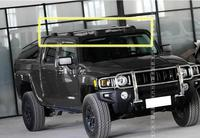 High quality Car Aluminum Roof Rack Rail baggage luggage Cross Bar For Hummer H3 2005 2006 2007 2008 2009 2010 BY EMS(With Lock)