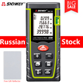 SNDWAY Digital Laser Meter Rangefinders Distance Meter Roulette Measure Distance/Area/volume Angle Laser tape with Box