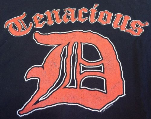 Tenacious D black T-Shirt sz M, Medium 2004 Jack Black, Greatest Song