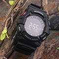 Fr9211b à prova d' água esporte running bluetooth smart watch dinâmica monitor de freqüência cardíaca relógio inteligente preto
