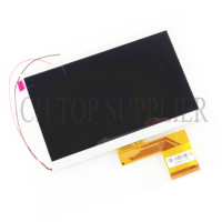 New LCD Display 7 TurboKids S4 Turbopad Tablet 1024X600 Inner LCD Screen Panel Matrix Module Replacement