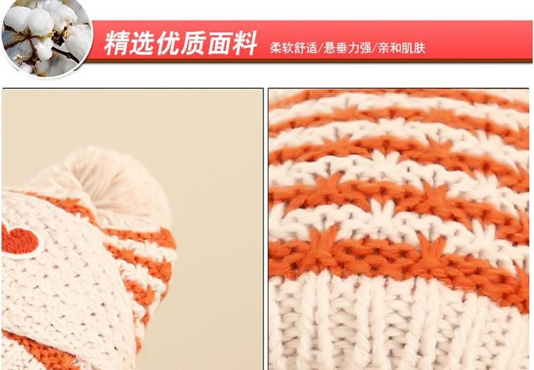 Lindo Coreano Mujeres Sombrero de Invierno Y Bufanda Conjunto Al ...