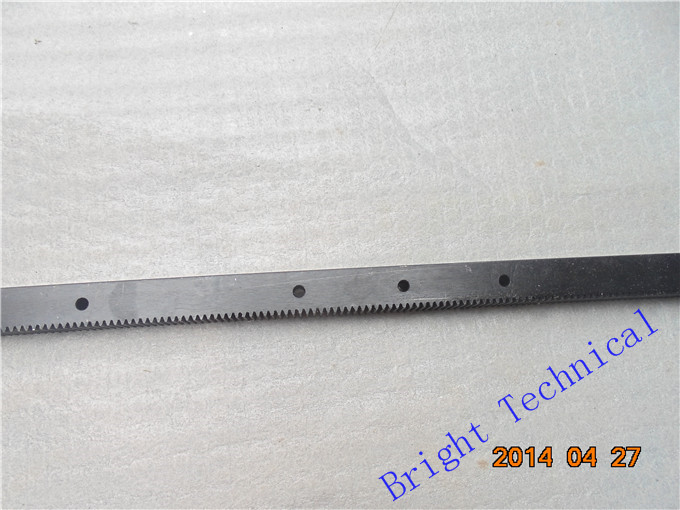 1.25mod 22*25*671 mm Gear rack (straight teeth) Precision Toothed rack CNC router rack For length2.5M, Wide1.3M 1325 machine toothed belt drive motorized stepper motor precision guide rail manufacturer guideway