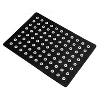 1pc PU Leather Metal Snap Button Display Board Unisex DIY Jewelry Fit 60pcs 18mm And 88pcs