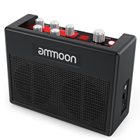 POCKAMP Portable Guitar Amplifier Amp Built in Multi effects 80 Drum Rhythms Support Tuner Tap Tempo Functions
