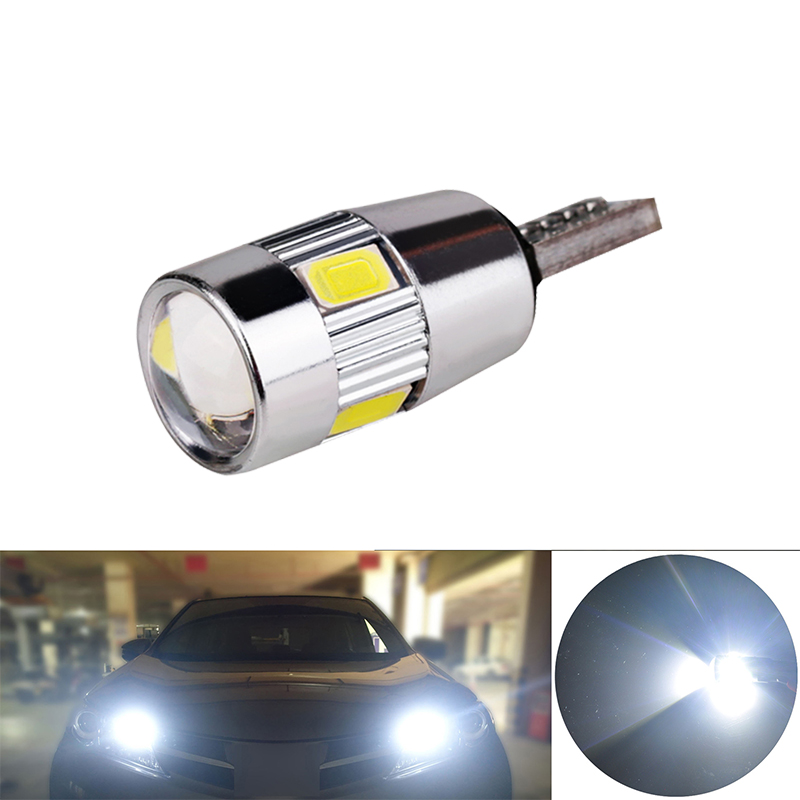 Image 3 - 6x T10 W5W LED Blub CANBLUS Super bright Car Interior Light Auto Styling 12V License Plate Turn signal Lamps Error Free 194 5W5-in Signal Lamp from Automobiles & Motorcycles