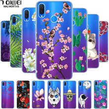 F For Huawei P Smart Plus Case Psmart Plus Cover Soft Silicone Phone Case for Huawei Nova 3i Case Nova 3 i Transparent TPU 6.3''(China)
