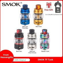 все цены на Original SMOK TF Tank w/ 6ml Capacity & 35mm Diameter TF Atomizer & TF Coil Vaporizer for SMOK MORPH Mod Vs TFV12 PRINCE/ TFV16 онлайн