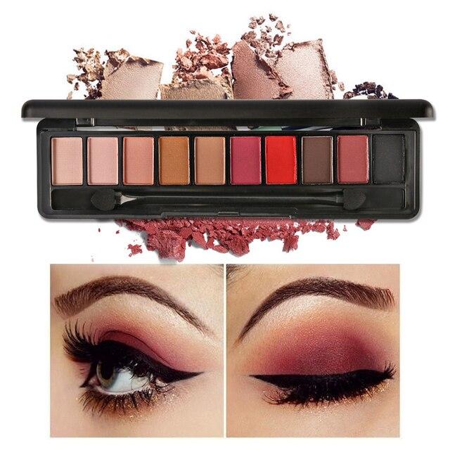 Модные outstaning 8 цветов Палитра теней для макияжа Shimmer матовая Deep Eye Shadow Косметика Палитра для карие глаза Фирменная Новинка