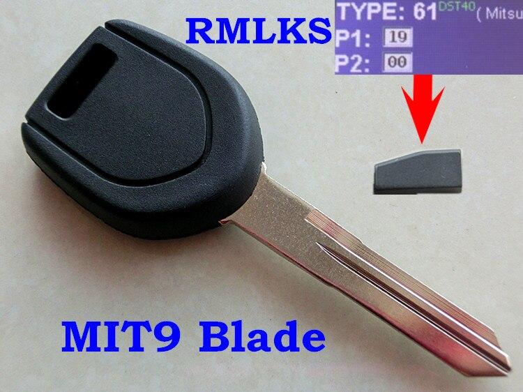Transponder Ignition Key Fob 4D61 for 2001-05 Mitsubishi Eclipse Endeavor Galant