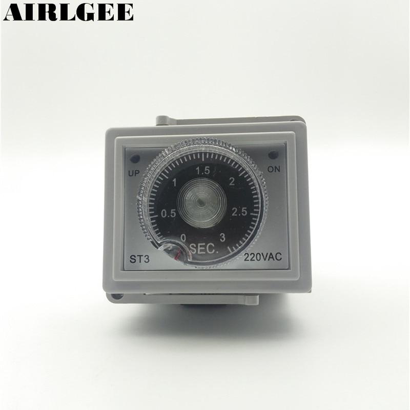 ST3 Foot Sealer 0-3 Seconds Timer Heating Time Relay Regulator