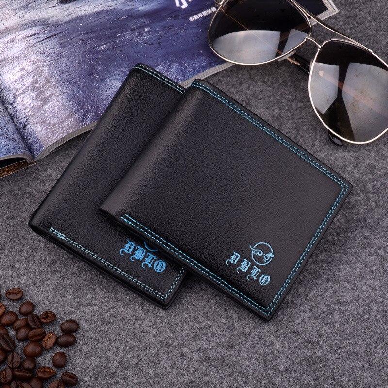 Fashion Simple Man Brand Short PU Leather Wallet Purse for Men доска бесплатных объявлений волоколамскшаховская поросята продаю